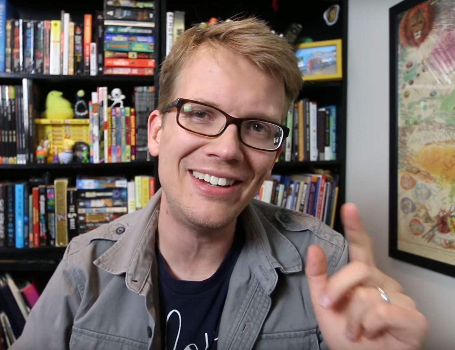 author Hank Green, courtesy Wikimedia Commons.