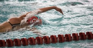 Women's Swim Team Falls Short to USC
