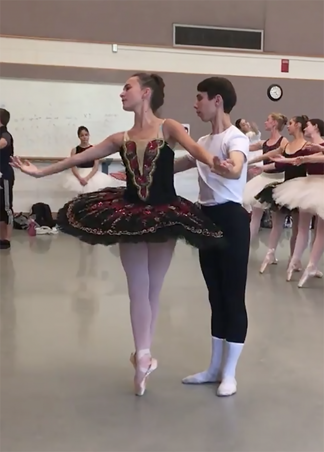 U of U Dancers: Mary Clare Huntsman & AJ Maia