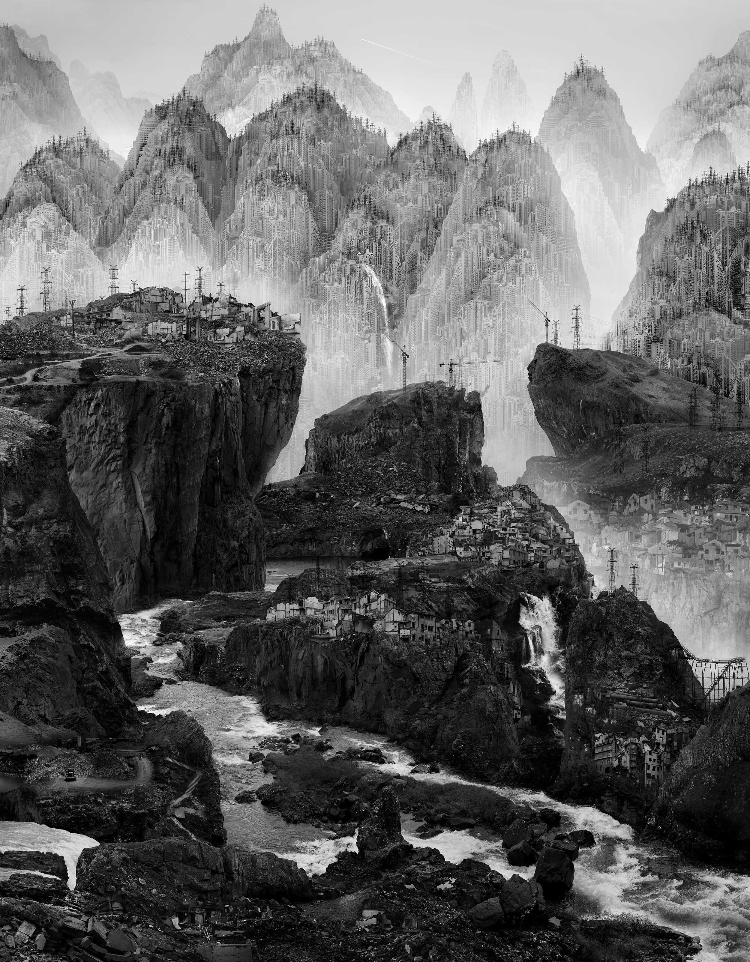 Courtesy of Yang Yongliang, (Chinese, 1980)
