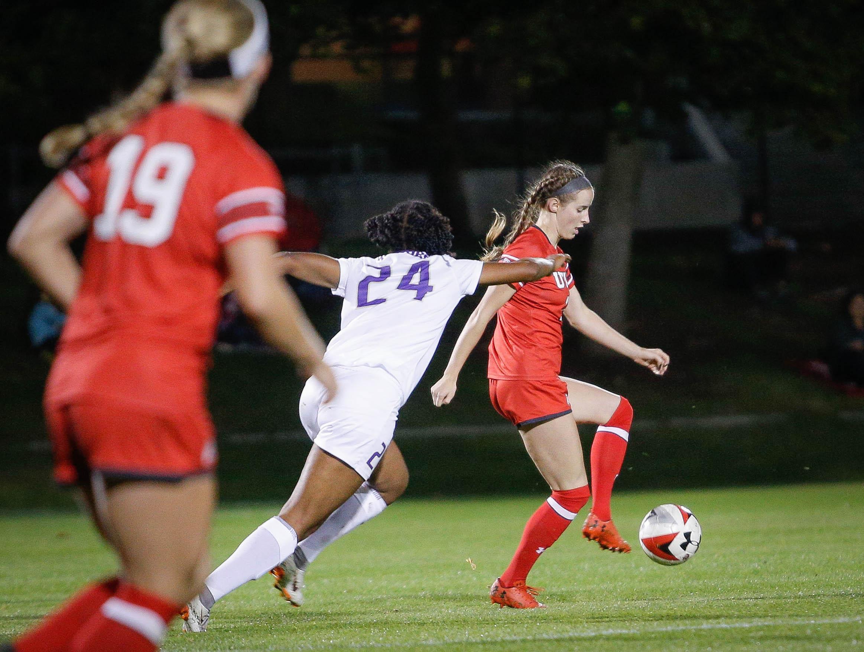 NCAA Women's Soccer game vs. Washington at Ute Soccer Field in Salt Lake City, UT on Thursday October 04, 2018. (Photo by Cassandra Palor | The Utah Chronicle)