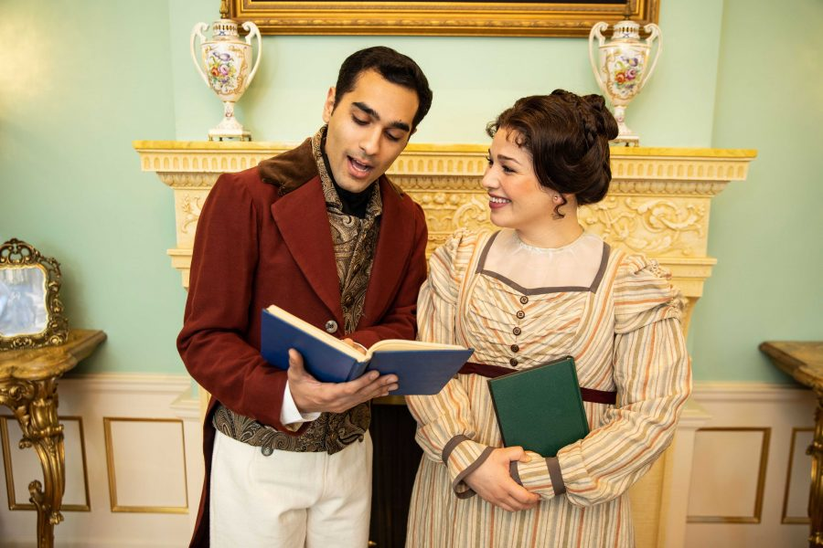 Christmas At Pemberley.Pioneer Theatre Company Reinvents Mary Bennet With