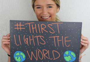U Student's Company, Thirst, Participates in the Light the World Campaign