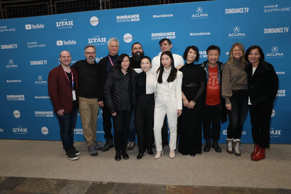 Film team and Director of Programming Kim Yutani attend the World Premiere