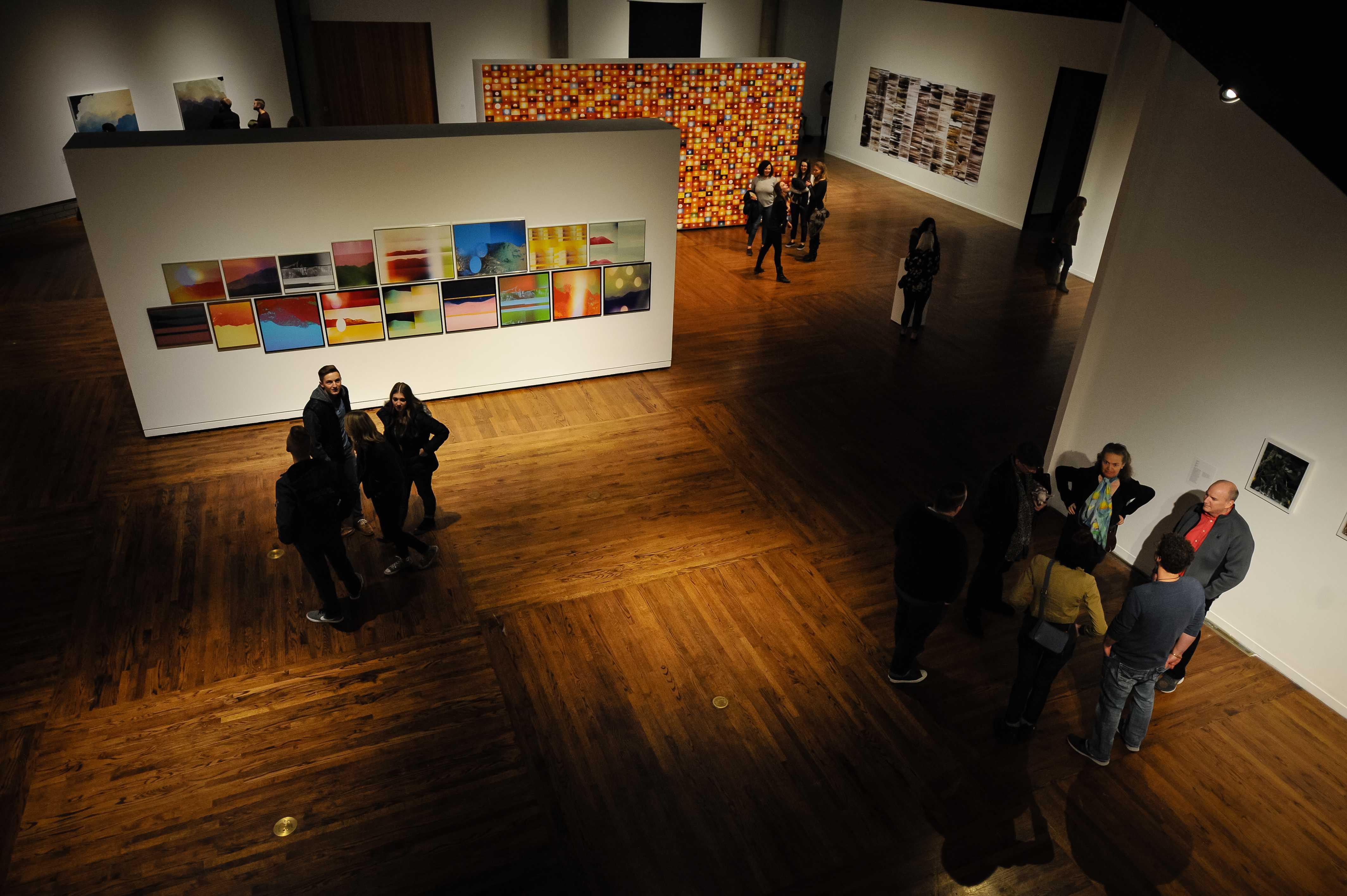 The Permadeath Art Exhibit at the Utah Museum of Contemporary Art Salt Lake City, UT on Friday, Jan. 26, 2018  (Photo by Adam Fondren | Daily Utah Chronicle)