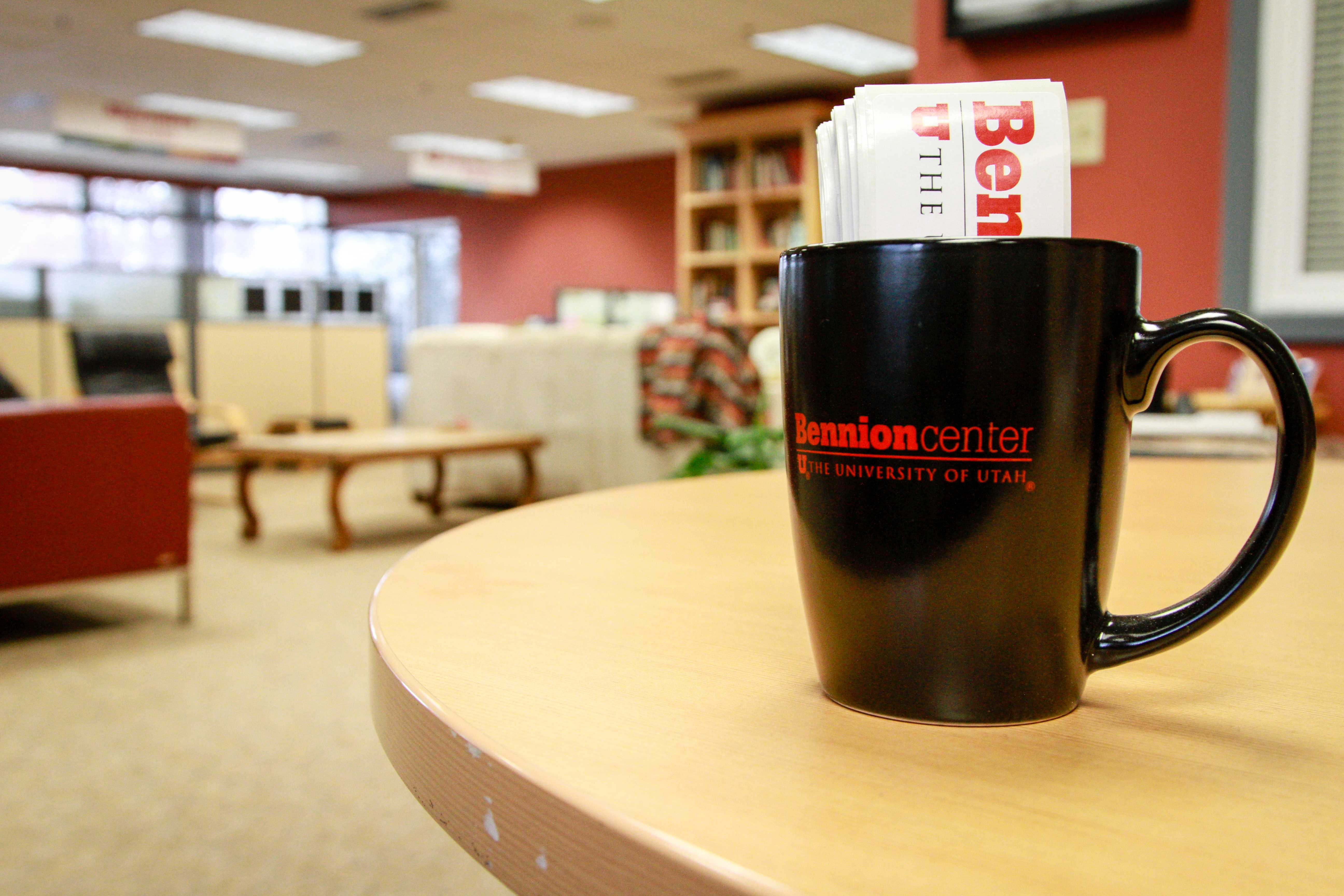 The Bennion Center in the Olpin Student Union. Chronicle archives.