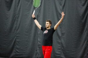 Tennis Dominates in Weekend Double Header