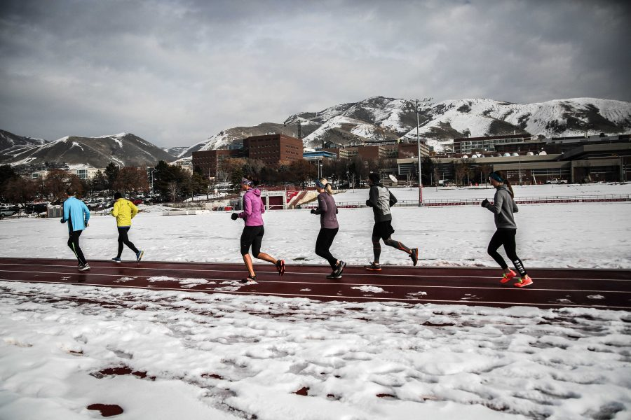 McCarthy Track and Field at the University of Utah on January 9, 2019.  (Photo by Cassandra Palor | The Daily Utah Chronicle)