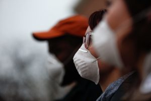 Inversion Season Fashion: Patterned Pollution Masks Give Options