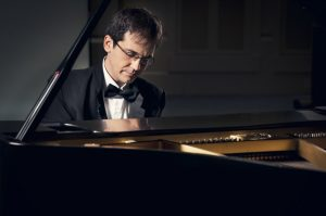 Visiting Professor Viktor Valkov Impresses in His Faculty Recital