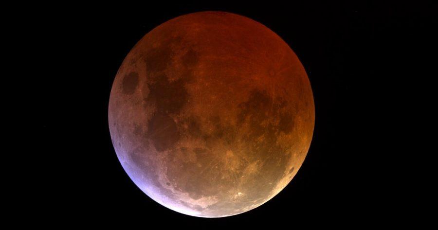 Total lunar eclipse Credit: timeanddate.com