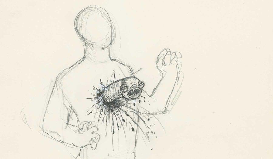 An original sketch from