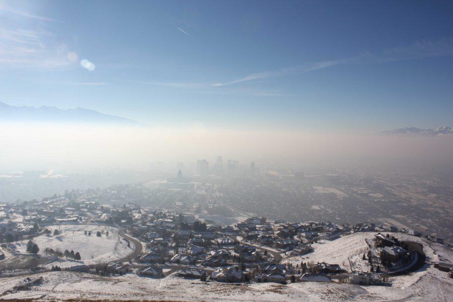 Smog+over+the+Salt+Lake+Valley.+Courtesy+Flickr.