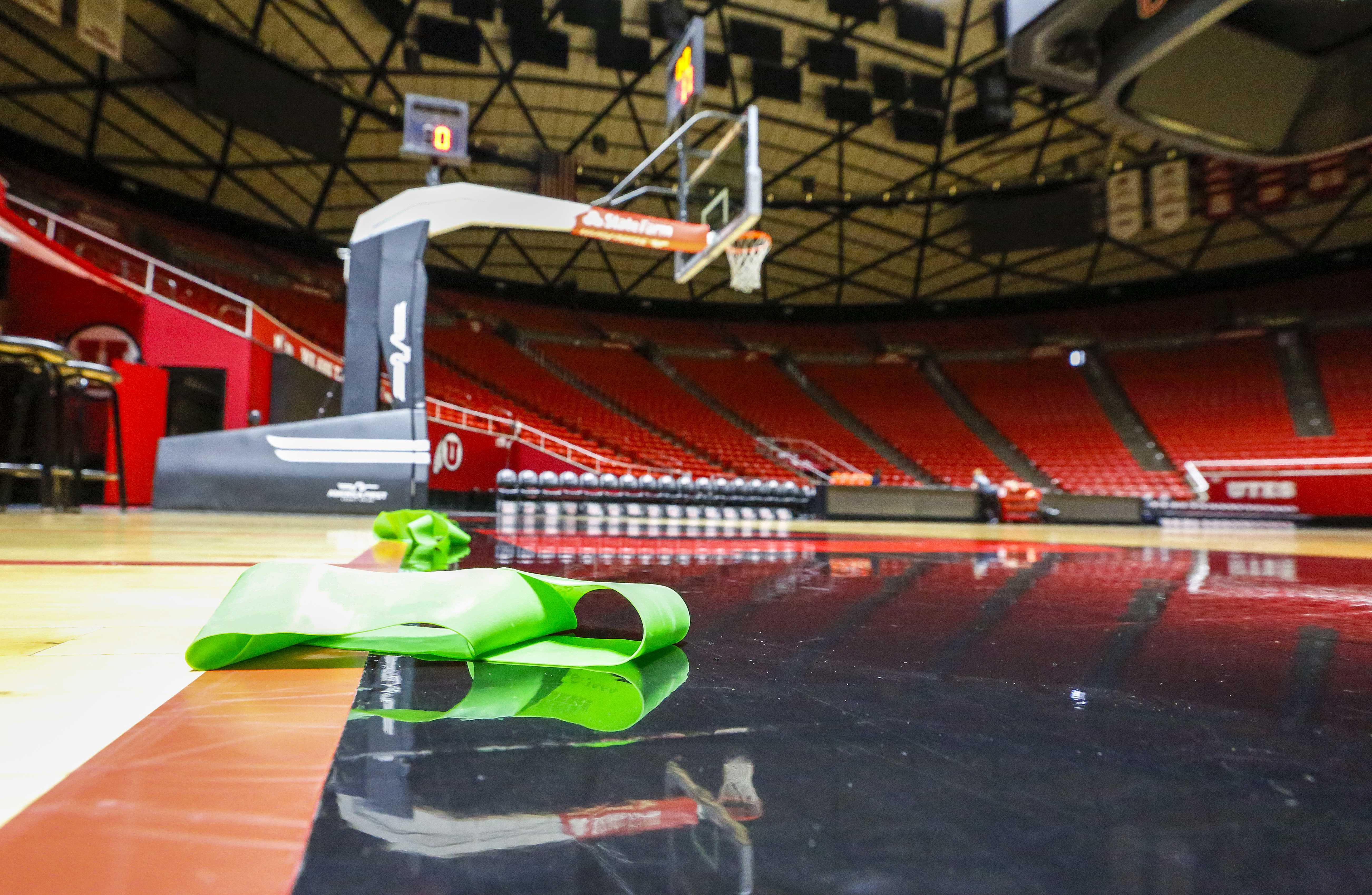 University of Utah Womens Basketball practice at the Jon M. Huntsman Center in Salt Lake City, UT on Wednesday, Jan. 10, 2018  (Photo by Adam Fondren | Daily Utah Chronicle)