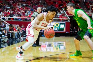 Utes Set to Take on Oregon in Pac-12 Tournament Opener