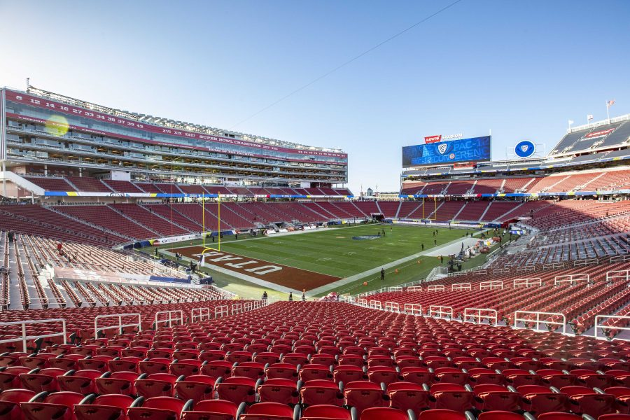Levi%27s+Stadium%2C+the+site+of+the+Pac12+Championship+Football+game+in+Santa+Clara%2C+CA+on+Friday%2C+Nov.+30%2C+2018.+%0A%0A%28Photo+by%3A+Justin+Prather+%7C+The+Daily+Utah+Chronicle%29.