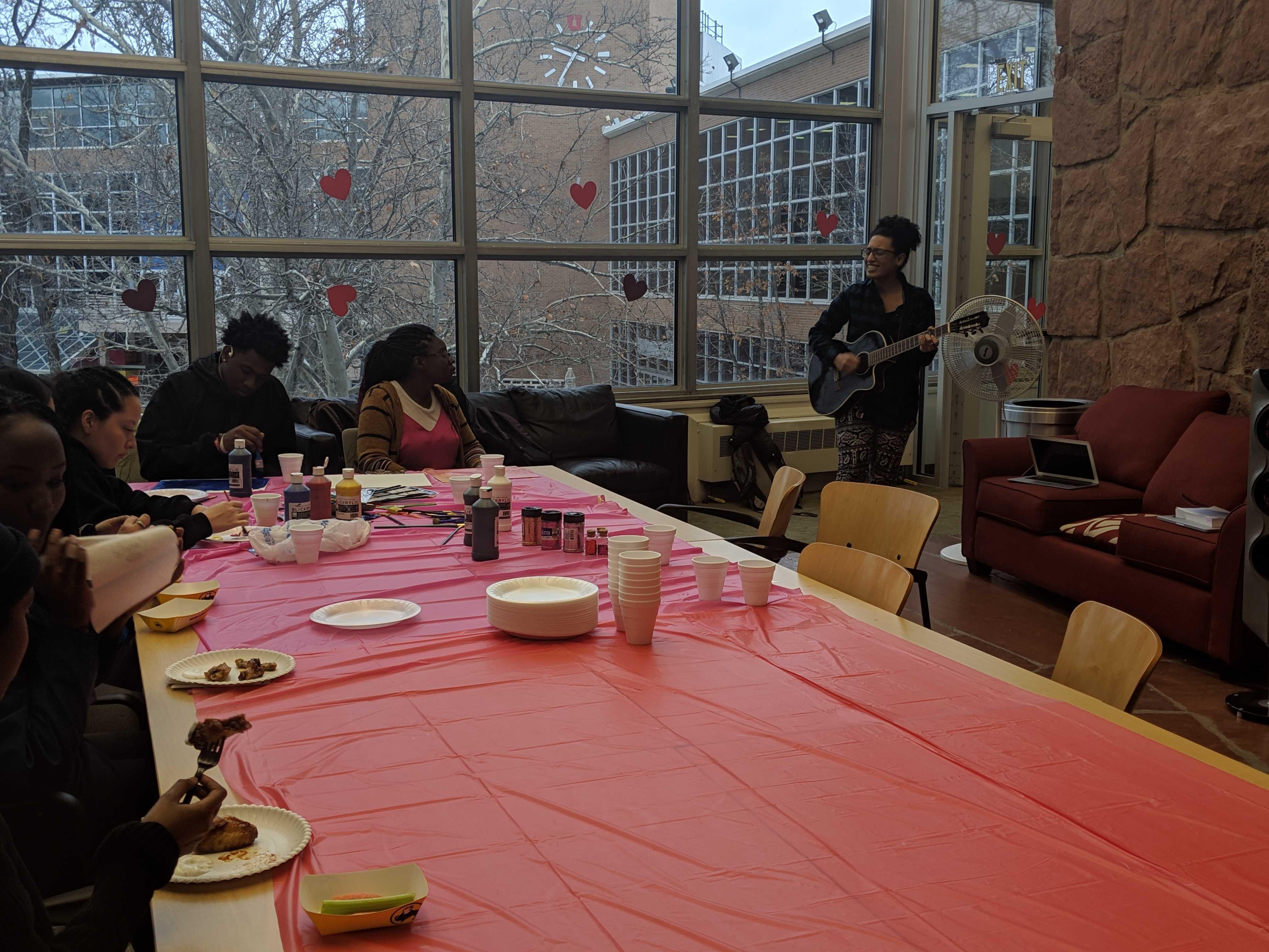 University of Utah Black Student Union Members attend