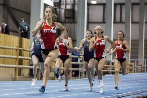 Six Utes Crack Top Ten in School History in Weekend Meets