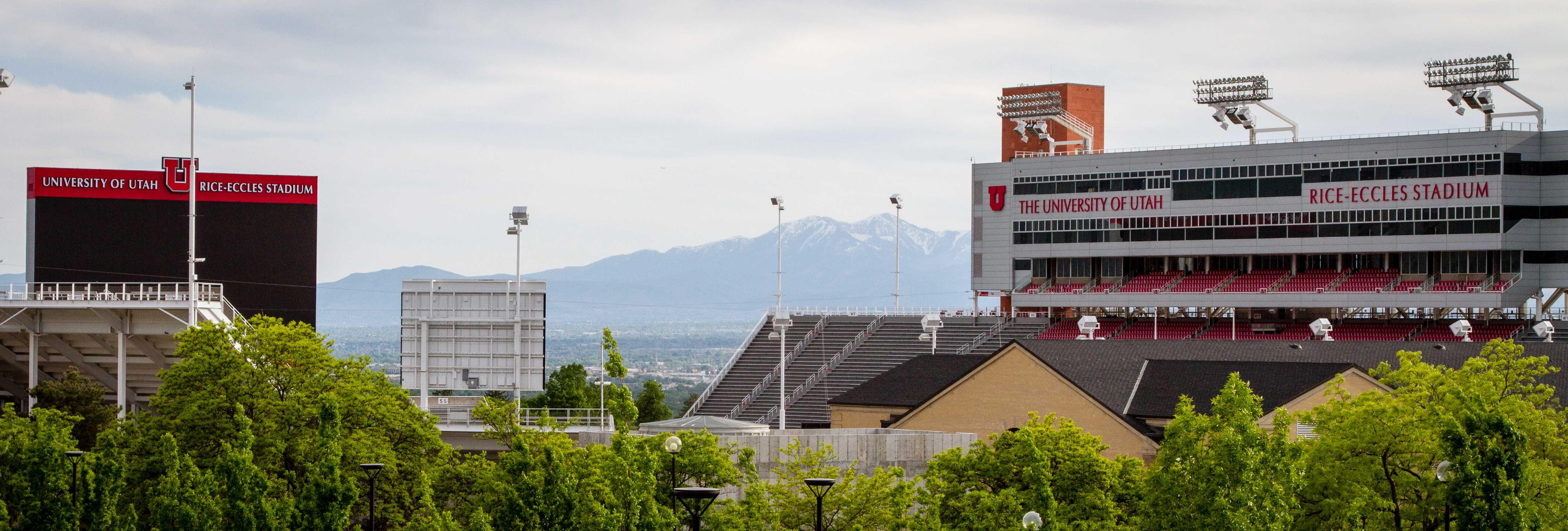 Rice Eccles Stadium at the University of Utah, Salt Lake City, UT 5/14/17.  (Photo by Adam Fondren | The Daily Utah Chronicle)
