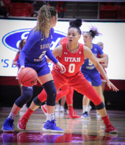 Women's Basketball Suffer Losses in California Roadtrip
