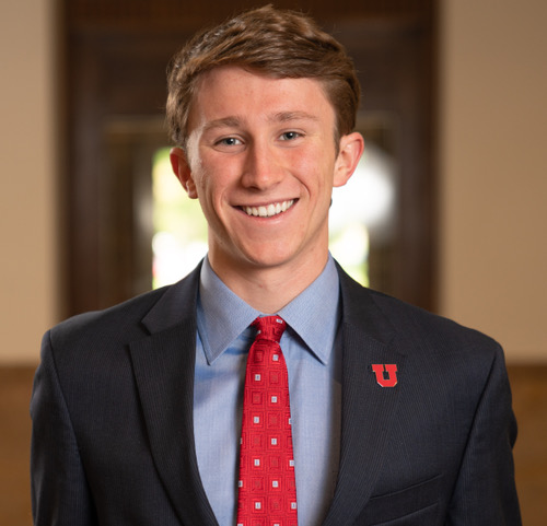 Connor Morgan, 2018-19 ASUU President (Courtesy of Connor Morgan)