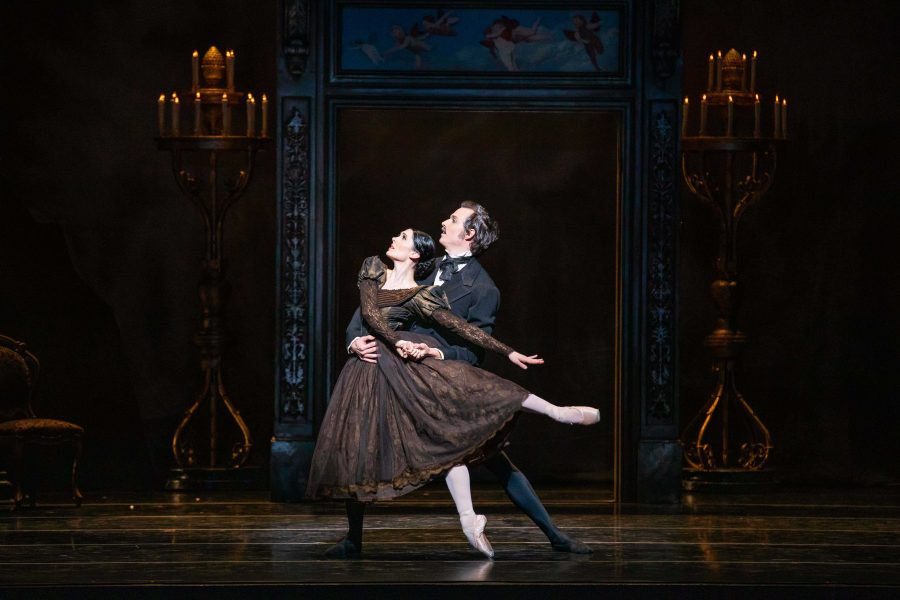 Principal Artists Beckanne Sisk and Chase O'Connell. (Photo by Beau Pears | Courtesy of Ballet West)