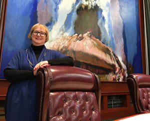 The Honorable Christine M. Durham (Photo credit: Julia Ritchey, KUER 90.1 FM)