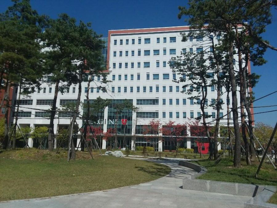 University of Utah Asia Campus in Songdo, South Korea. (Photo by Mitch Shin | The Daily Utah Chronicle)