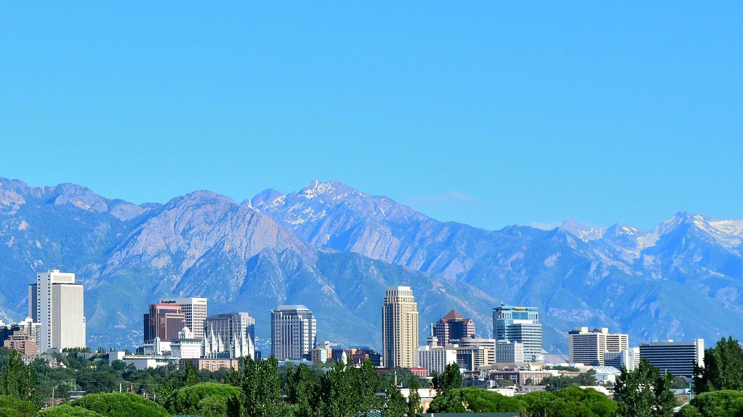Salt Lake City. Courtesy Wikimedia Commons.