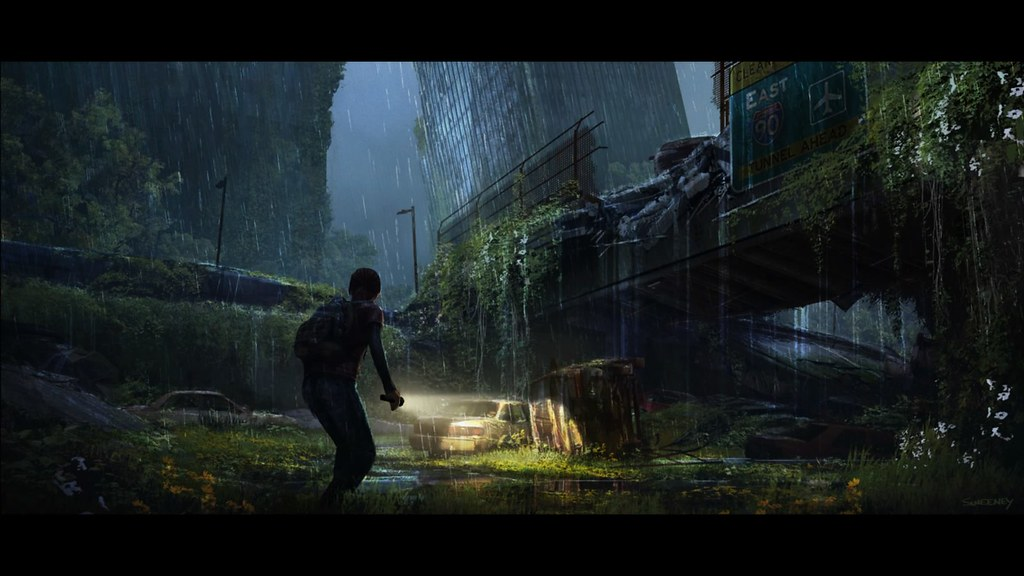 Concept art from