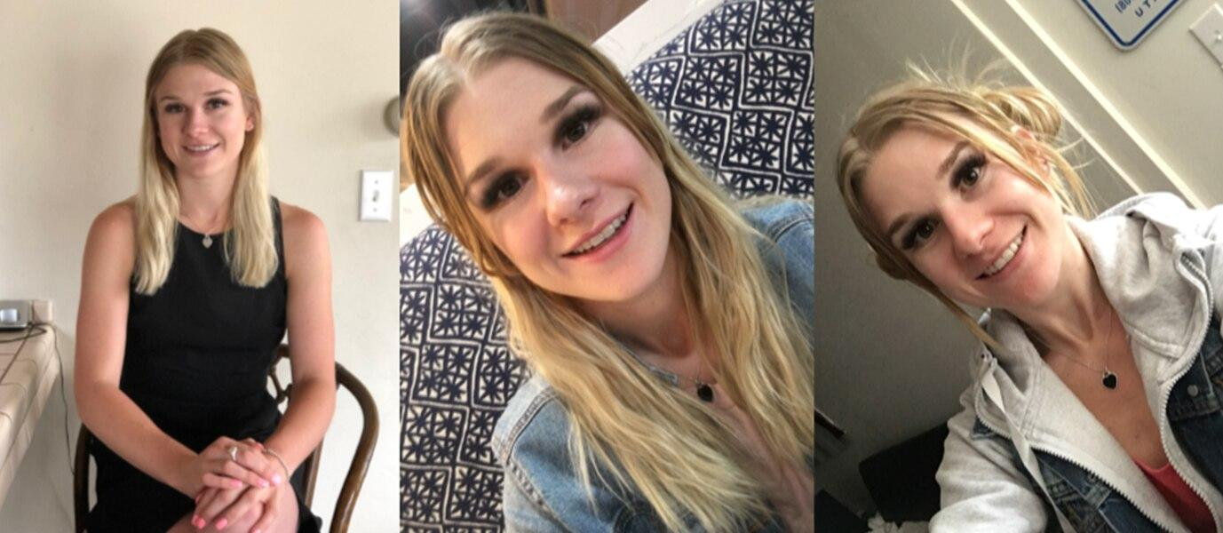 Investigators release images of Mackenzie Lueck, the 23 year old missing University of Utah student. Courtesy Salt Lake City Police Department.