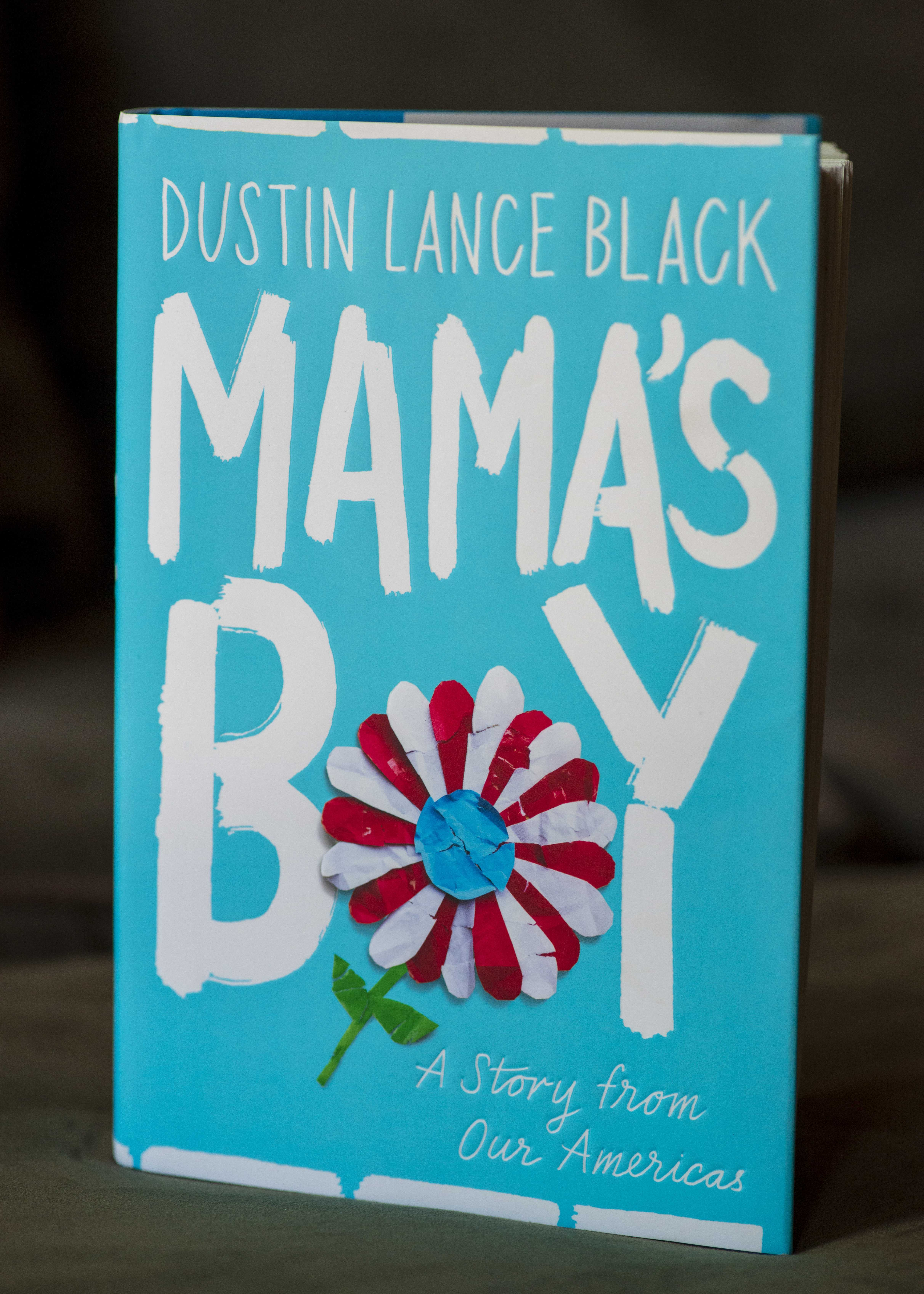Photographing the book 'Mama's Boy' by Dustin Lance Black in Salt Lake City, UT on Thursday, June 6, 2019. (Photo by Kiffer Creveling | The Daily Utah Chronicle)