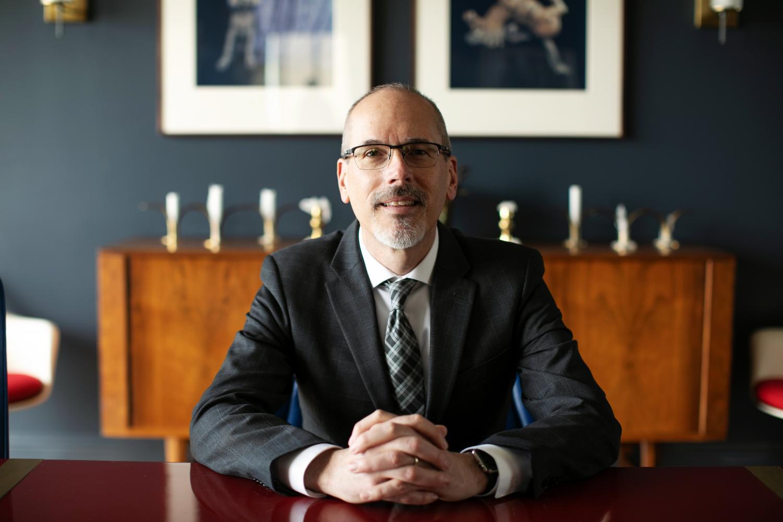 John Scheib, Dean of the College of Fine Arts (Courtesy University of Utah College of Fine Arts)