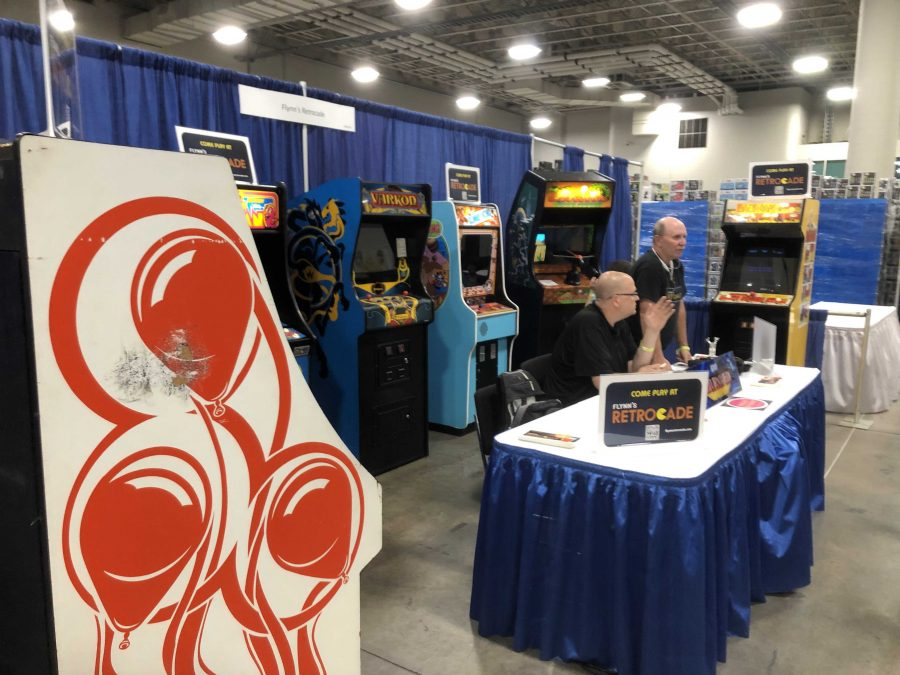 Flynn's Retrocade features many arcade games that you may not have heard of at SLGC.   (Photo by Ray Gill | Daily Utah Chronicle)