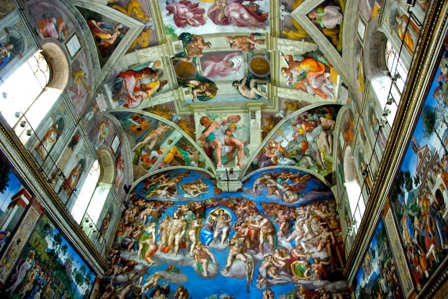 The+Sistine+Chapel.+Courtesy+Flickr.