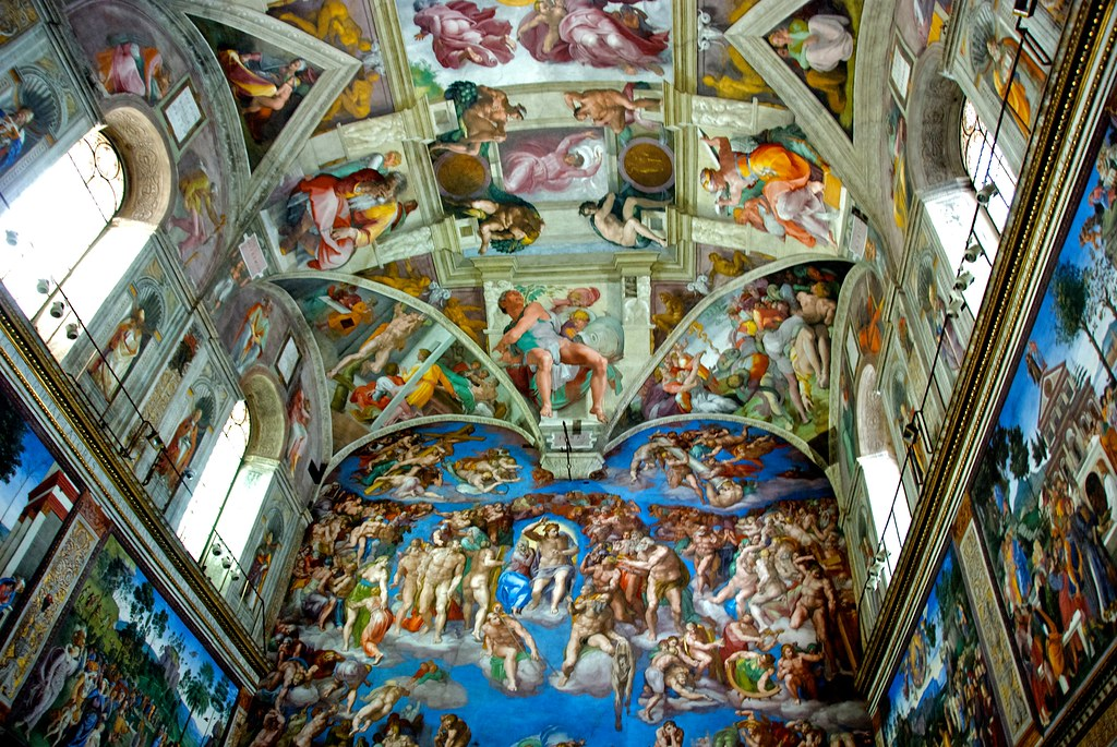 The Sistine Chapel. Courtesy Flickr.