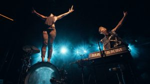 Matt and Kim Bring Infectious Energy to Ogden Twilight