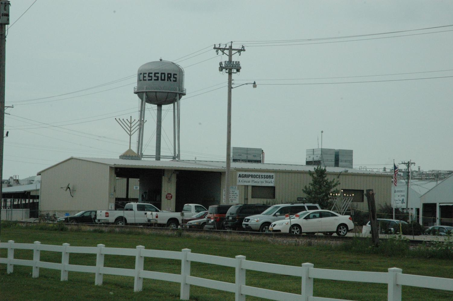 The Agriprocessors plant. (Courtesy Wikimedia Commons)