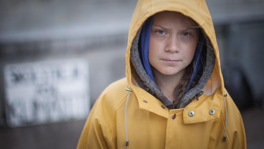 Climate activist Greta Thurnberg (Courtesy Wikimedia Commons)