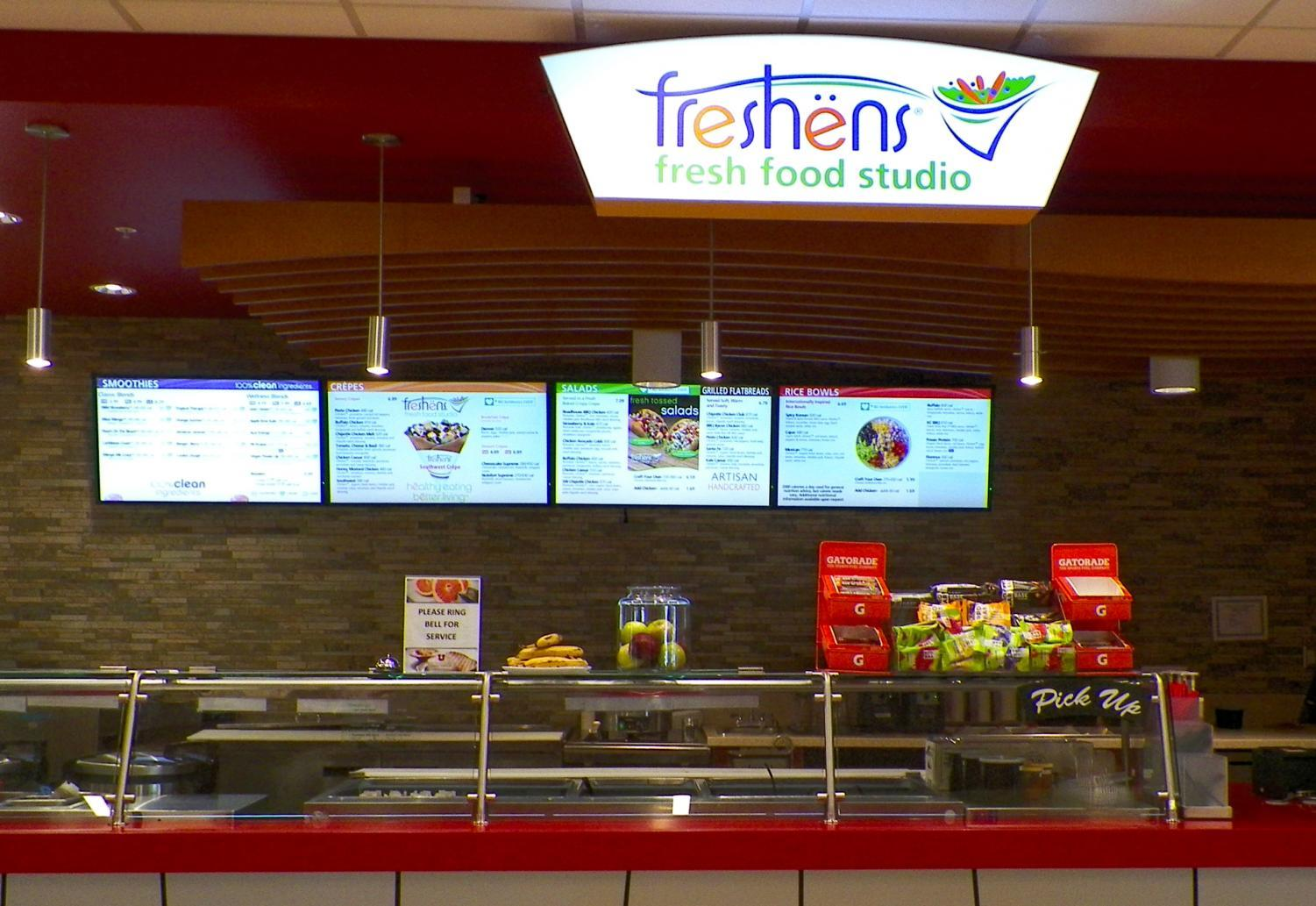 Freshens, located in the George S. Eccles Student Life Center at the University of Utah | Chronicle archive