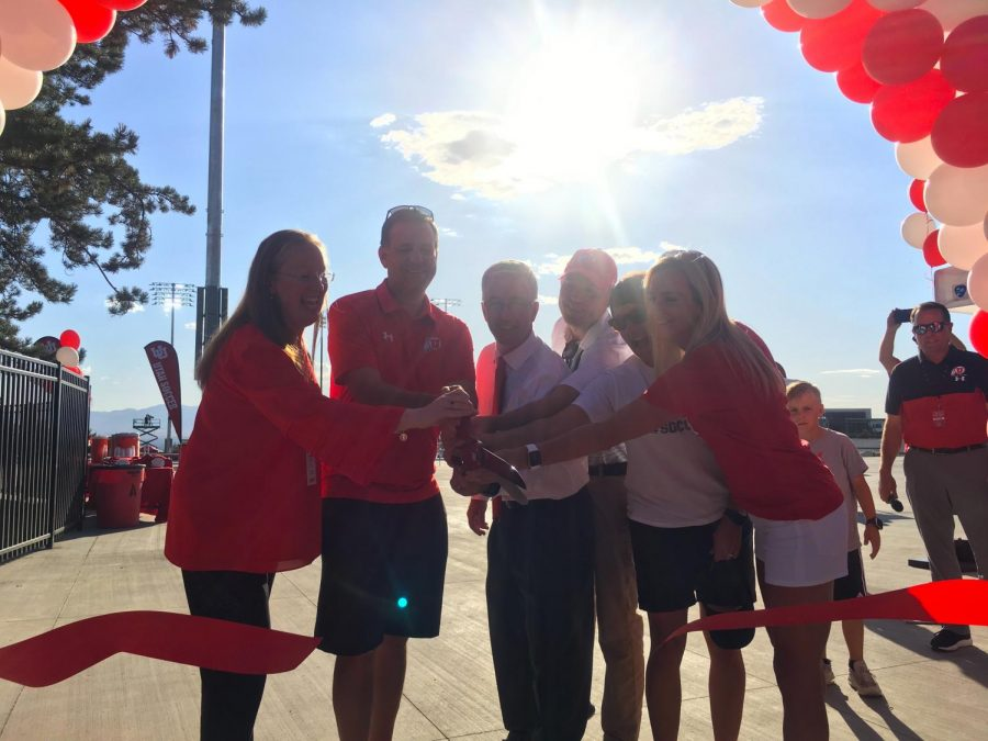 New Home for Soccer and Lacrosse, Ute Field Opens