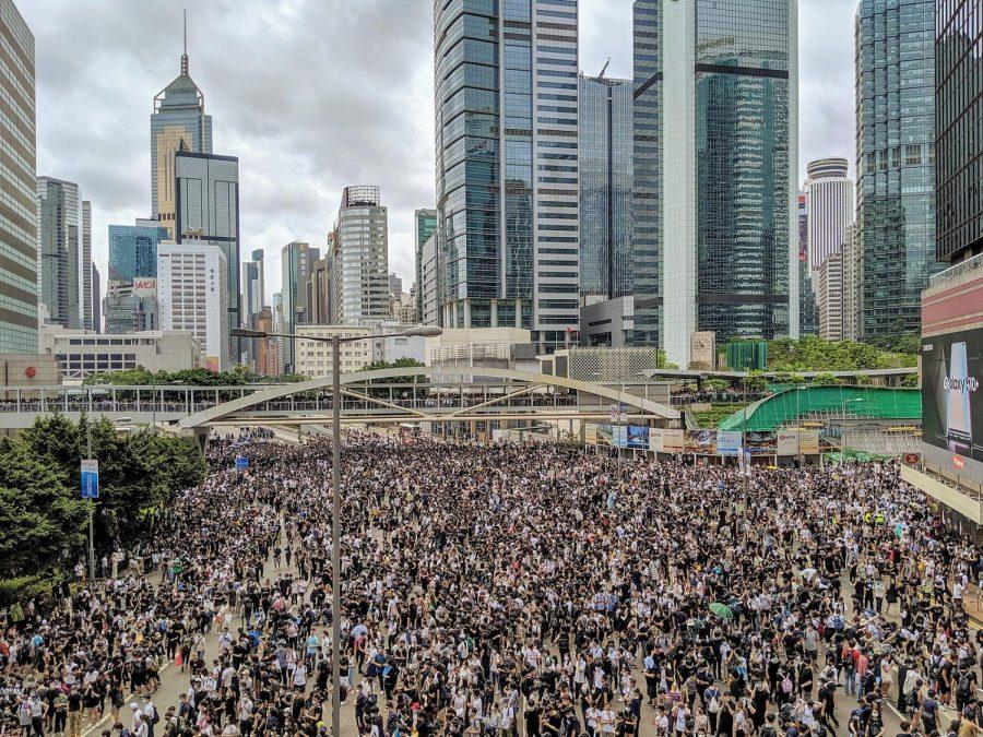 Hong Kong anti-extradition bill protest (Courtesy Wikimedia Commons)