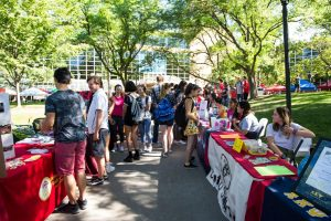 PlazaFest Connects Students to Campus