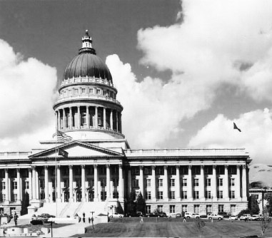 The Utah State Capitol (Chronicle archives)