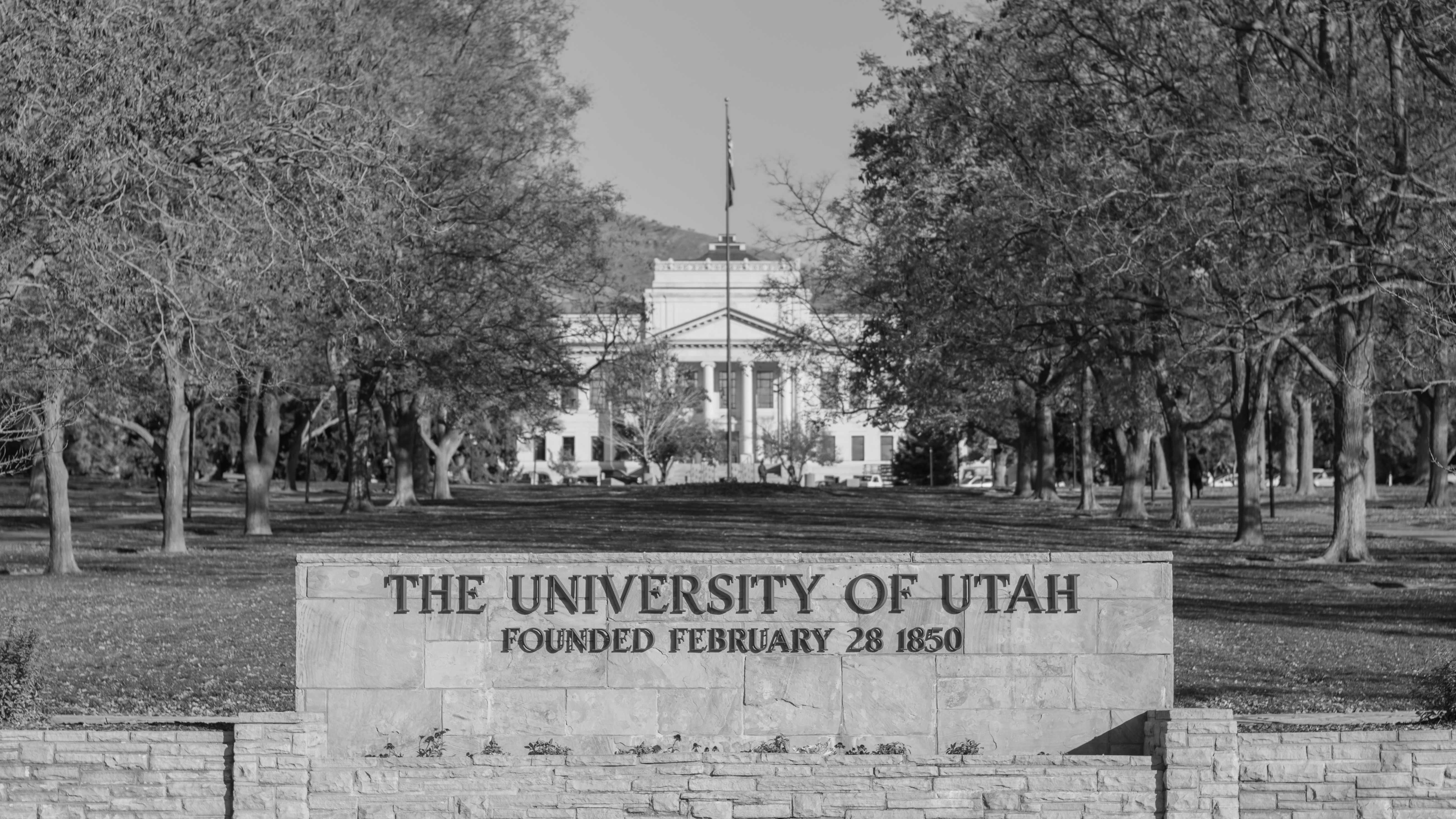 University of Utah's President's Circle in Salt Lake City, UT on Tuesday November 06, 2018.  (Photo by Curtis Lin | Daily Utah Chronicle)