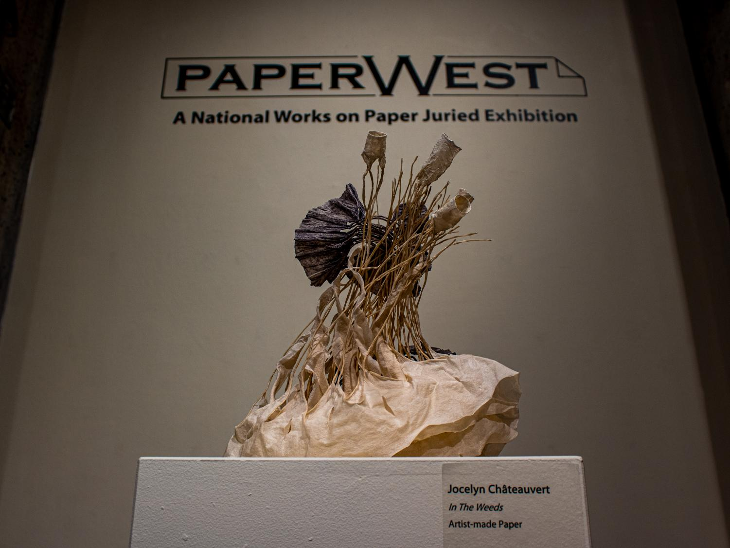 All photos are exhibits on display at the PaperWest Exhibition. Captured on Tuesday, October 15th, 2019. (Photo by Jermy Thomas   The Daily Utah Chronicle)