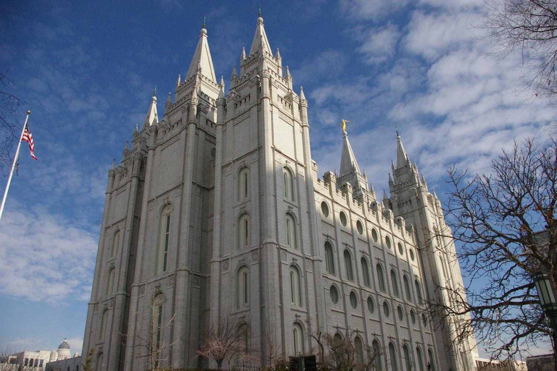 Salt Lake Temple (Courtesy Wikimedia Commons)