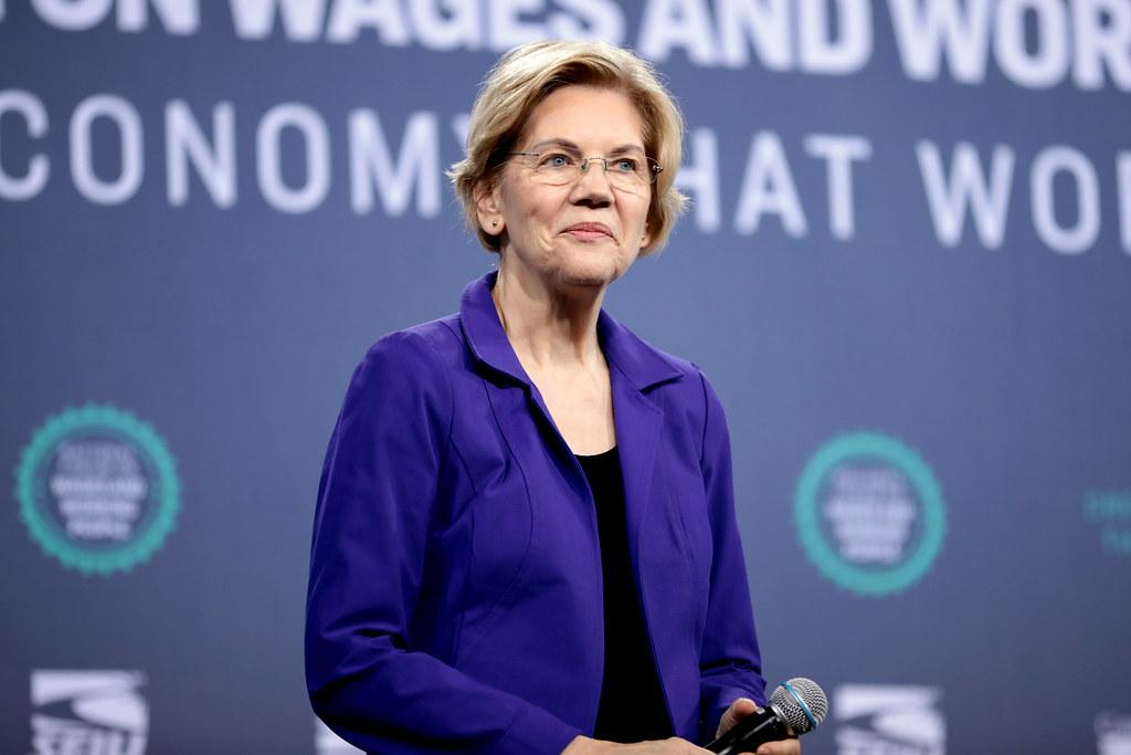 Sen. Elizabeth Warren has faced scrutiny after sharing her experiences with pregnancy discrimination. (Courtesy Flickr)