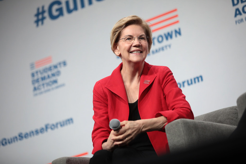 Senator Elizabeth Warren (Courtesy Flickr)
