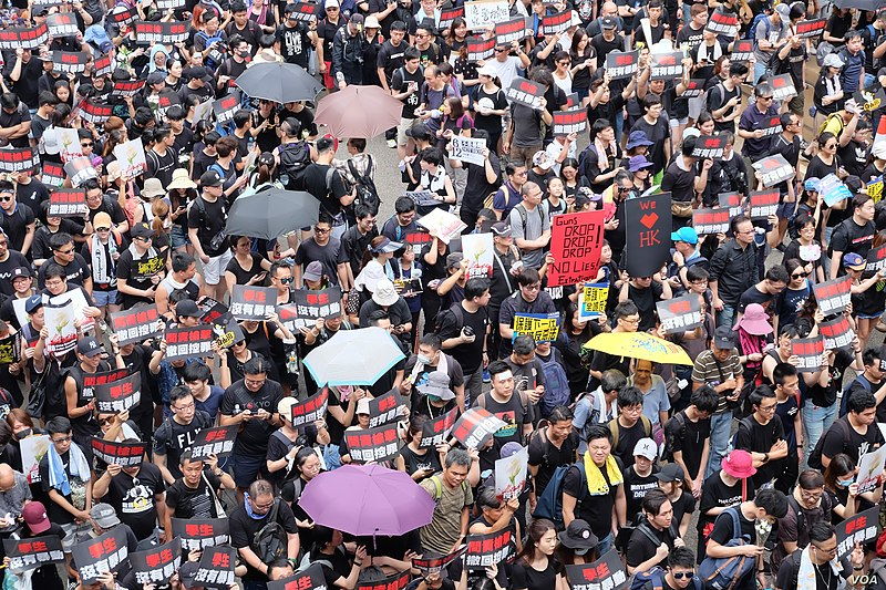 Protestors+in+Hong+Kong+in+June+2019+%28Courtesy+Wikimedia+Commons%29